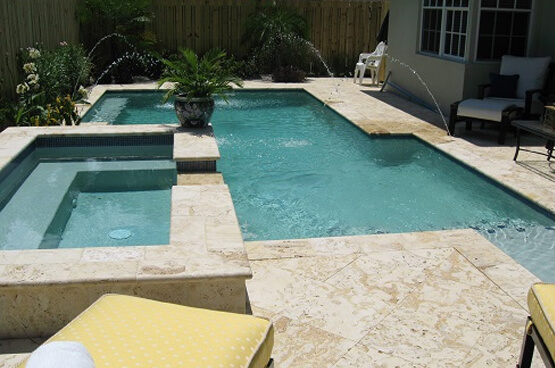 Stone Pool Remodeling